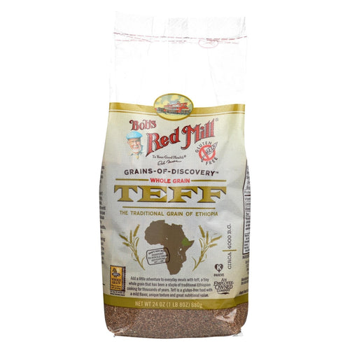 Bob's Red Mill - Whole Grain Teff - 24 Oz - Case Of 4