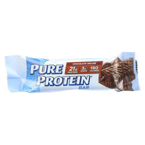 Pure Protein Bar - Chocolate Deluxe - Case Of 6 - 50 Grams