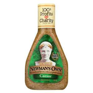 Newman's Own Lite Dressing - Caesar - Case Of 6 - 16 Fl Oz.