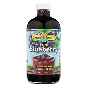 Dynamic Health Blueberry Juice Concentrate - 8 Fl Oz