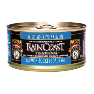 Raincoast Trading Wild Sockeye Salmon - Case Of 12 - 5.65 Oz.