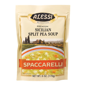 Alessi - Split Pea Soup - Spaccarelli - Case Of 6 - 6 Oz.