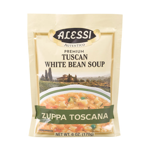 Alessi - Tuscan - White Bean Soup - Case Of 6 - 6 Oz.