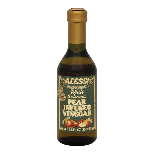 Alessi Pear Infused Vinegar - White Balsamic - Case Of 6 - 8.5 Fl Oz.