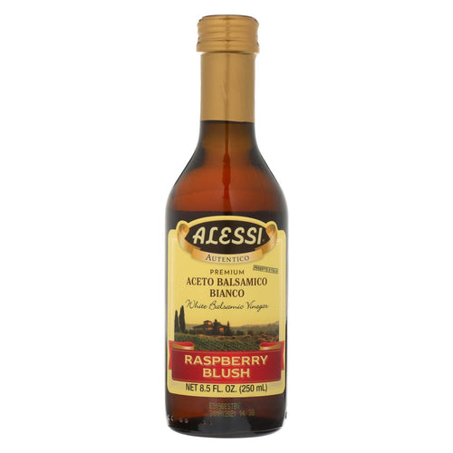 Alessi Vinegar - White Balsamic Raspberry Blush - Case Of 6 - 8.5 Fl Oz.