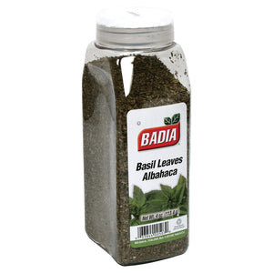 Badia Spices - Basil Leaves - Case Of 6 - 4 Oz.