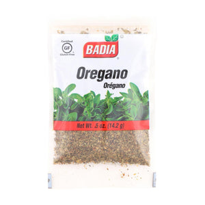 Badia Spices - Whole Oregano - Case Of 12 - 0.5 Oz.