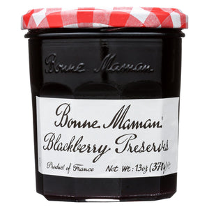 Bonne Maman Conserve - Blackberry - Case Of 6 - 13 Oz.