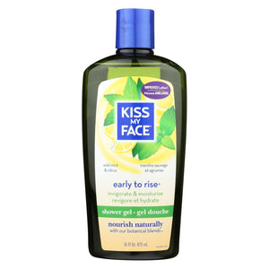 Kiss My Face Shower Gel And Foaming Bath Early To Rise - 16 Fl Oz