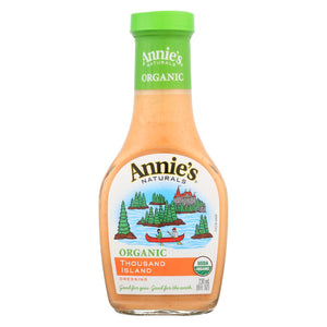 Annie's Naturals Organic Dressing Thousand Island - Case Of 6 - 8 Fl Oz.