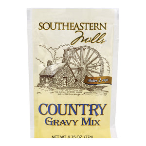 Southeastern Mills Gravy - Country - Case Of 24 - 2.75 Oz