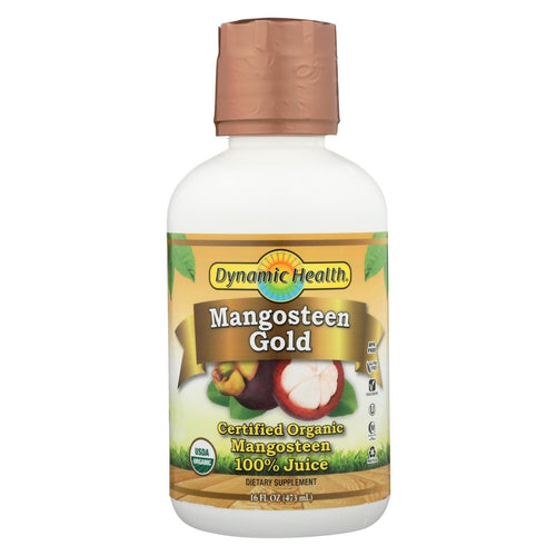Dynamic Health Wild Harvested Mangosteen Gold - 16 Fl Oz