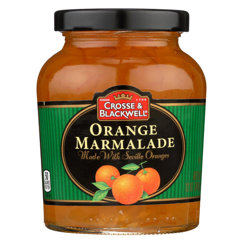 Crosse And Blackwell Jelly - Orange Marmalade - Case Of 6 - 12 Oz.