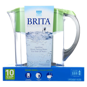 Brita Pitcher - Grand - Green - 1 Pitcher