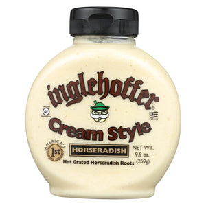 Inglehoffer Cream Style Horseradish - Case Of 6 - 9.5 Oz.