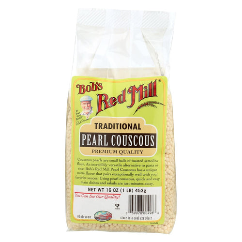 Bob's Red Mill - Traditional Pearl Couscous - 16 Oz - Case Of 4