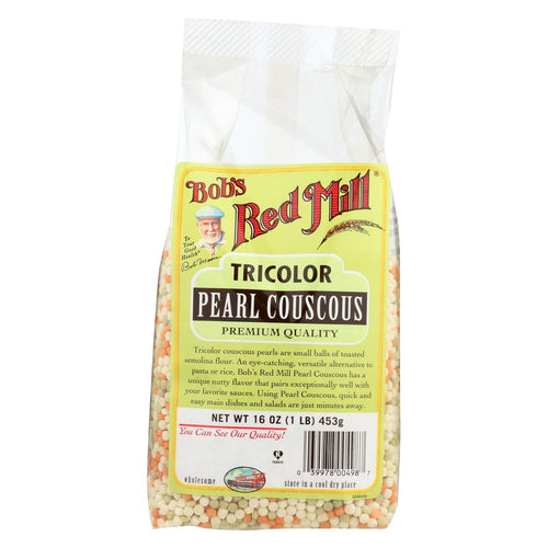 Bob's Red Mill - Tri-color Pearl Couscous - 16 Oz - Case Of 4