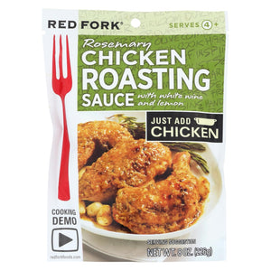Red Fork Rosemary Chicken - Roasting Sauce - Case Of 6 - 8 Oz.
