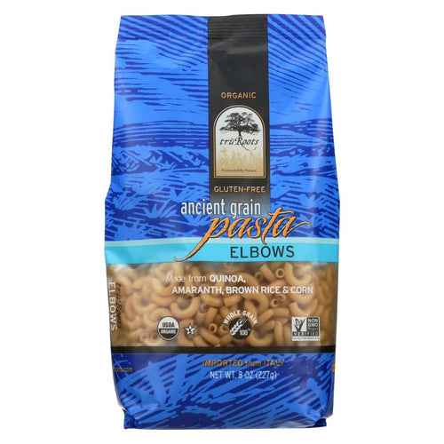 Truroots Organic Pasta - Elbows, Ancient Grain - Case Of 6 - 8 Oz.