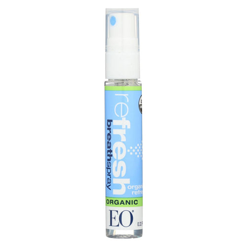 Eo Products - Breath Spray - Organic Refresh - Counter Dsp - .33 Oz - 1 Case
