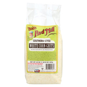 Bob's Red Mill - White Corn Grits Polenta - 24 Oz - Case Of 4