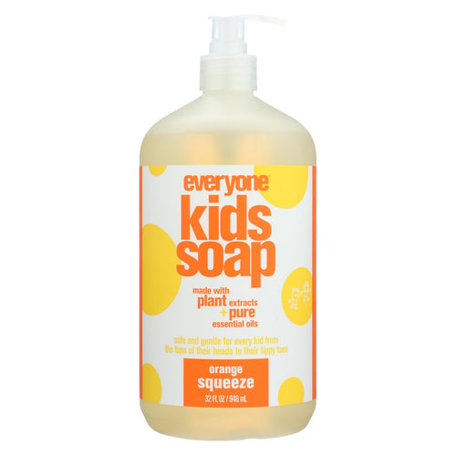 Eo Products - Everyone Soap For Kids - Orange Squeeze - 32 Oz