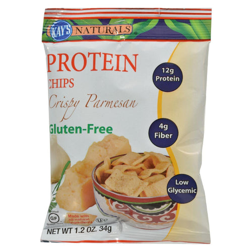 Kay's Naturals Better Balance Protein Chips Crispy Parmesan - 1.2 Oz - Case Of 6
