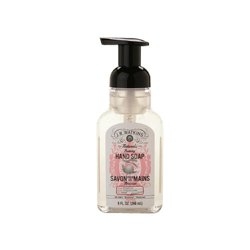J.r. Watkins Foaming Hand Soap - Grapefruit - Case Of 6 - 9 Fl Oz