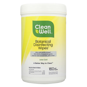 Cleanwell Disinfecting Wipes - 180 Count