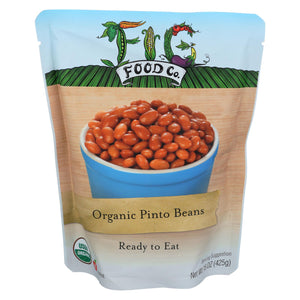Fig Food Organic Pinto Beans - Case Of 6 - 15 Oz.