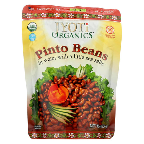 Jyoti Cuisine India Pinto Beans - Case Of 6 - 10 Oz.