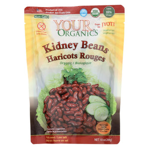 Jyoti Cuisine India Beans - Organic - Kidney - 10 Oz - Case Of 6