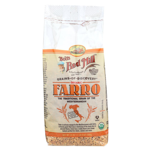 Bob's Red Mill - Organic Farro Grain - 24 Oz - Case Of 4
