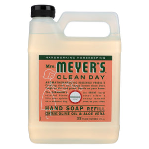 Mrs. Meyer's Clean Day - Liquid Hand Soap Refill - Geranium - 33 Fl Oz