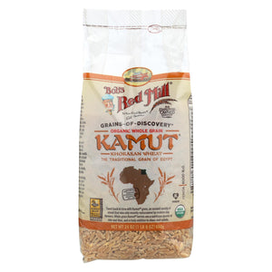 Bob's Red Mill - Organic Kamut(r) Khorasan Wheat Berries - 24 Oz - Case Of 4