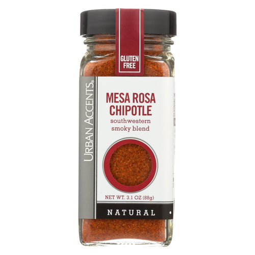 Urban Accents Spice - Mesa Rosa Chipotle - Case Of 4 - 3.1 Oz