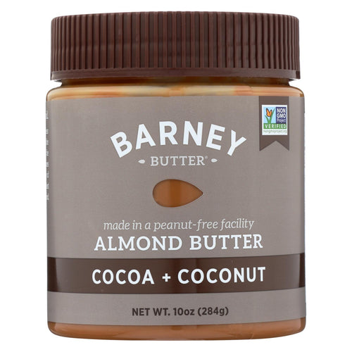 Barney Butter - Almond Butter - Cocoa Coconut - Case Of 6 - 10 Oz.