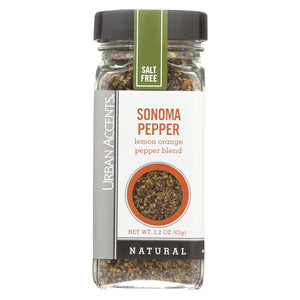 Urban Accents Spice - Sonoma Pepper - Case Of 4 - 2.2 Oz