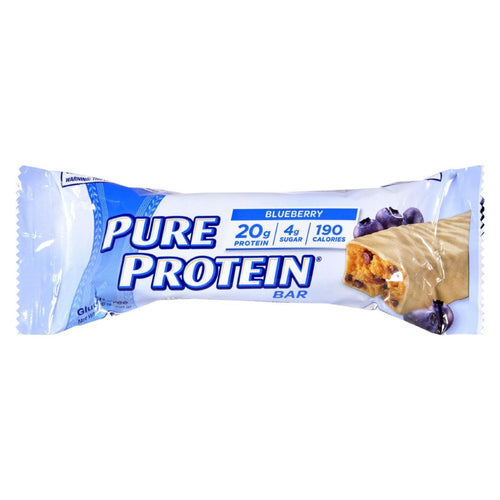 Pure Protein Bar - Blueberry With Greek Yogurt Style Coating - 1.76 Oz - Case Of 6