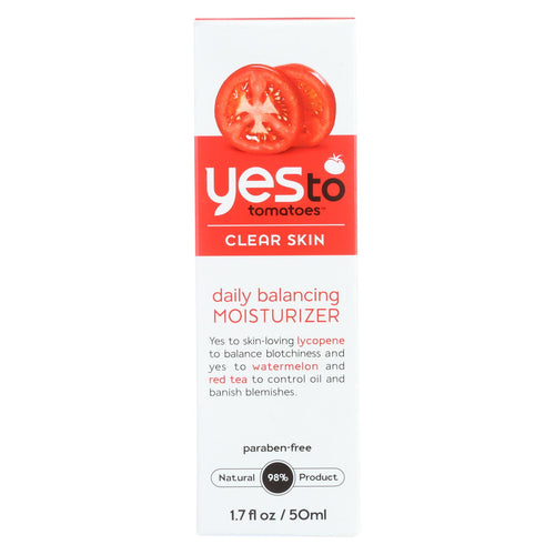Yes To Tomatoes Moisturizer - Daily Balancing - Clear Skin - 1.7 Oz