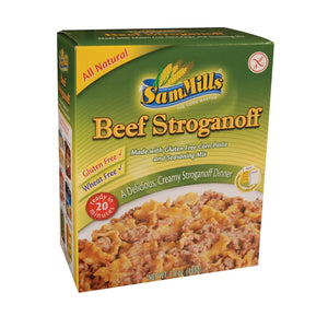 Sam Mills Dinner Kits - Beef Stroganoff - Case Of 6 - 5.8 Oz.