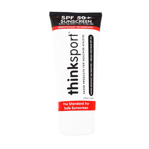 Thinksport Sunscreen - Safe - Spf 50 Plus - Family Size - 6 Oz
