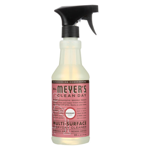Mrs. Meyer's Clean Day - Multi-surface Everyday Cleaner - Rosemary - 16 Fl Oz - Case Of 6