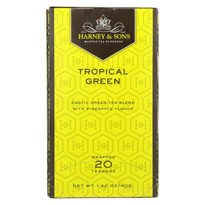 Harney And Sons Harney And Sons Green Tea - Tropical - Case Of 6 - 20 Bags