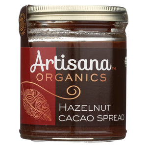 Artisana Hazelnut Spread - Organic - Case Of 6 - 8 Oz.