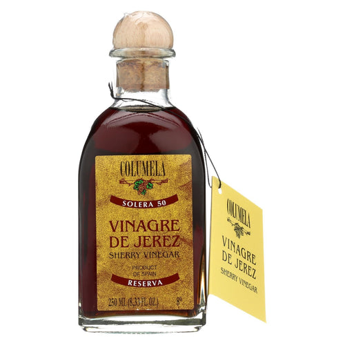 Columela Vinegar - Sherry - 50 Yr - Case Of 6 - 8.33 Fl Oz