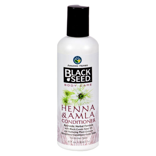 Black Seed Conditioner - Henna And Amla - 8 Oz