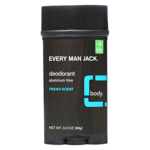 Every Man Jack Body Deodorant - Fresh Scent - 3 Oz
