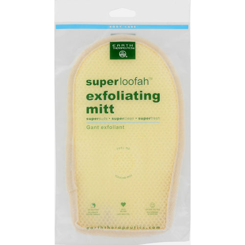 Earth Therapeutics Loofah - Super - Exfoliating - Bath Mitt - 1 Count