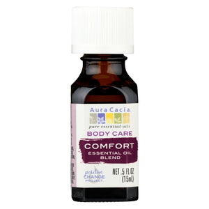 Aura Cacia Essential Oil Blend - Body - Comfort - .5 Oz